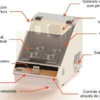 Incubadora Refrigerada com Timer Touch Screen