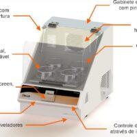Incubadora Shaker Touch II