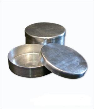 Placa de petri com tampa em alum nio cial - Placa de aluminio ...